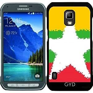 Funda para Samsung Galaxy S5 Active - Birmania 8 Bits by Cadellin