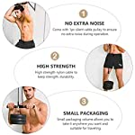 CLISPEED-Lift-Pulley-System-Fitness-LAT-Arm-Forza-Trainer-Attrezzatura-per-Lallenamento-Muscolare-Home-Gym-Home-Fitness-for-Triceps-Pull-Down-Bicipite-Curl-Back-Avambraccio-Spalla