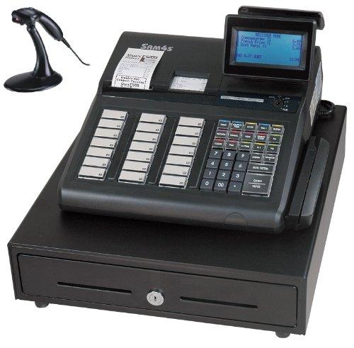 Sam4s / Samsung SPS-345 Cash Register w/ MS-9540 Scanner