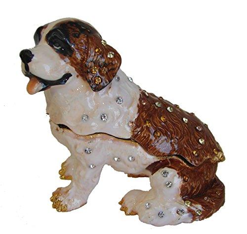 (Feng Shui Import Big Bejeweled Cloisonne Dog Statue )