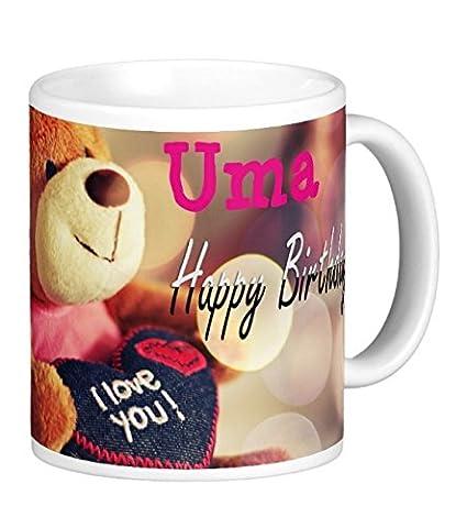 Buy Happy Birthday Uma Online At Low Prices In India Amazon In