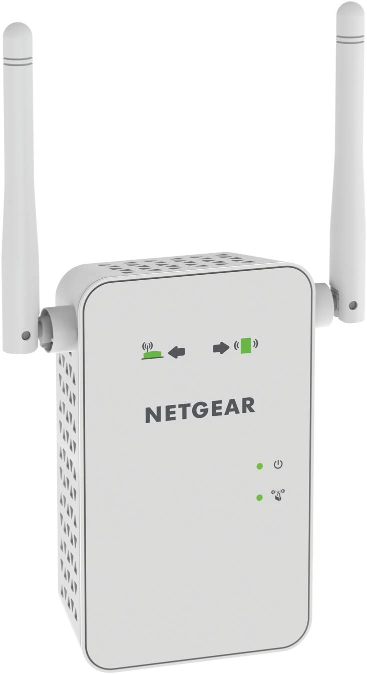 NETGEAR WiFi Mesh Range Extender EX6100 - Coverage up to 1000 sq.ft. and 15 Devices with AC750 Dual Band Wireless Signal Booster & Repeater (up to 750Mbps Speed), Plus Mesh Smart Roaming