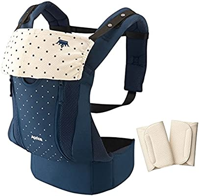 Aprica hug string Koranhagu original Kingdom Navy NV (with fatigue waist belt type drool pad) 39445 [new SG corresponding model]Japan import