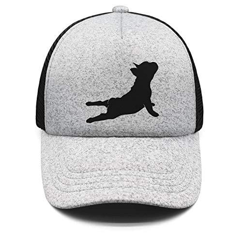 French Bulldog Cap - Kids Boys Girls Sandwich Hat French Bulldog Yoga Adjustable Baseball Cap