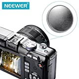 Neewer 11mm Diameter Silver Concave Metal Soft Shutter Release Button For Leica M Rangefinder Cameras M3 M6 MP M8 M9 M9P Nikon Canon Hasselblad Olympus Minolta Rolleiflex FUJIX100 SLR Cameras With Screw hole