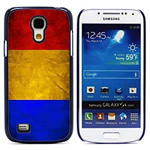Graphic4You Vintage Romanian Flag of Romania Design Hard Case Cover for Samsung Galaxy S4 Mini