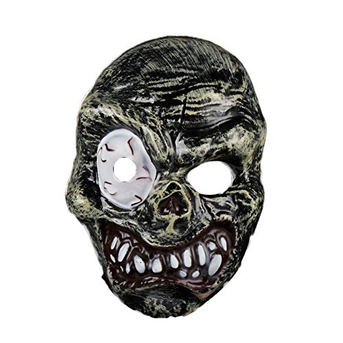 Halloween Horror Mask, S.Charma Ghost Festival Grimace Bloody Zombie Prom Party Dress Up Props -