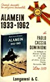 Front cover for the book Alamein, 1933-1962 by Paolo Caccia Dominioni