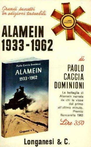 Alamein, 1933-1962