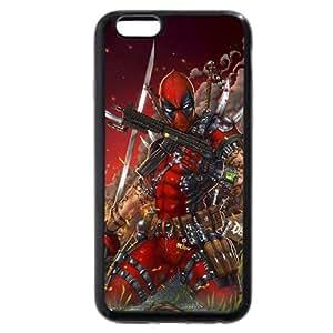 """UniqueBox Customized Marvel Series Case for iPhone 6+ Plus 5.5"""", Marvel Comic Hero Deadpool iPhone 6 Plus 5.5"""