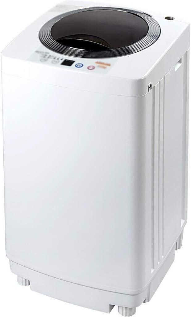 MASP ミニ洗濯機 ベッドルームのリビングルームバルコニーバスルーム、エネルギーと水の節約、3.5キロ容量用ミニシングル浴槽洗濯機