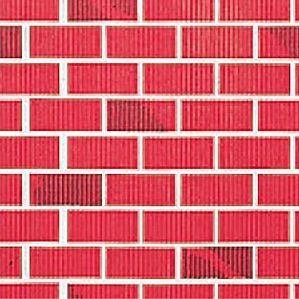 Amazon Red Brick Flat Paper Amazing Brick Pattern Paper
