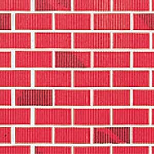Amazon Com Red Brick Flat Paper