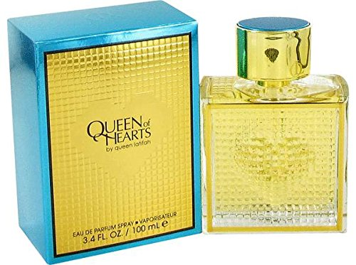 Queen Of Hearts By: Queen Latifah 3.4 oz EDP, Women's -Free Gift Included-