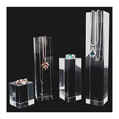 Modern Acyrlic Display Stands Multi Function Exhibition Trade Show Store Gallery (Clear)