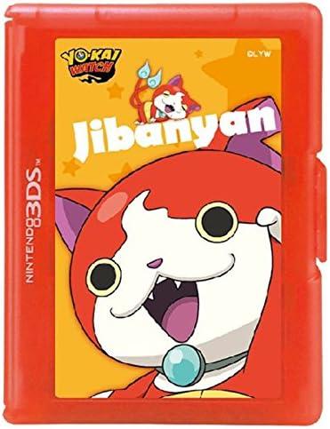 Hori - Estuche De Juegos Yo-Kai Watch (12 Cartuchos, Jibanyan) (Nintendo 3Ds/2Ds): Amazon.es: Videojuegos
