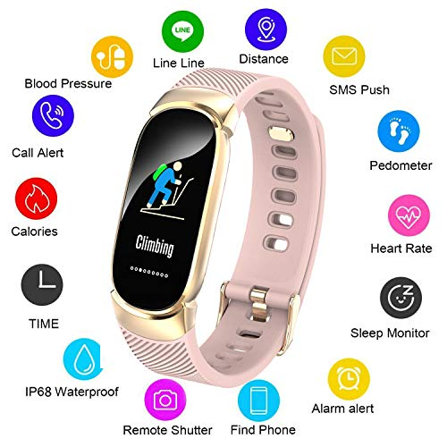 LIGE Fitness Tracker HR, Activity Tracker Watch with Heart Rate Monitor, IP67 Water Resistant Smart Bracelet with Calorie Counter Pedometer Watch for Android & iOS