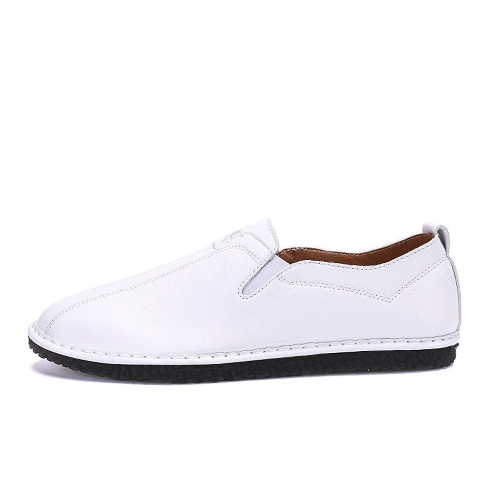 Xiazhi-Chaussure s, Hommes  's Casual Business Oxford Casual 's en Cuir Souple léger Respirant Une pédale Lofer (Color : Kaki, Taille : 43 EU) d36d0d