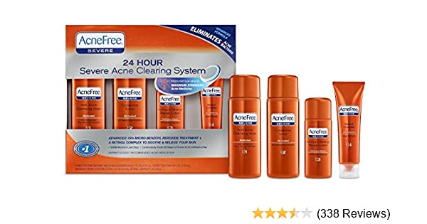 Amazon Com Acnefree Severe Acne Treatment System Facial