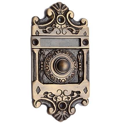 Adonai Hardware Nehushtan Decorative Brass Bell Push or Door Bell or Push  Button - Amazon.com: Adonai Hardware Nehushtan Decorative Brass Bell Push Or
