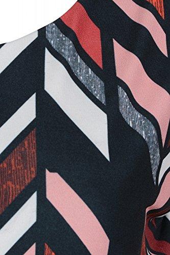 heine Dress Brooke Abito Jersey di Multicolor in Print Ashley EAqTO