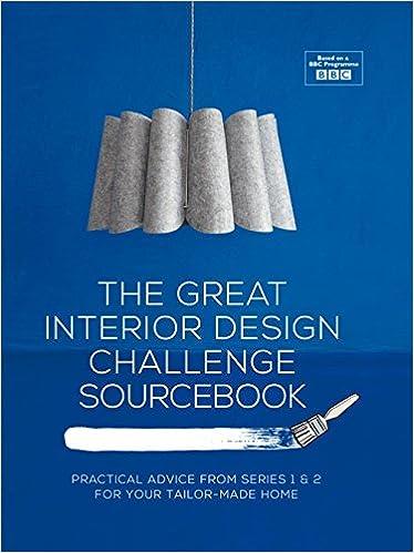 Amazon The Great Interior Design Challenge Workbook