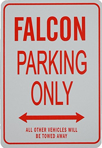 FALCON PARKING ONLY - Mini Parking Signs ideal for the motoring enthusiast Ford Falcon