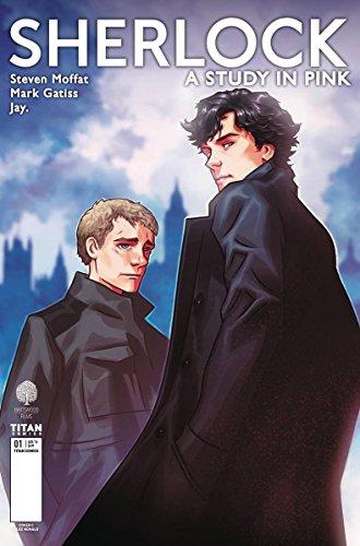 Sherlock: A Study in Pink #1 Alex Ronald Variant Cover C Manga Comic Book