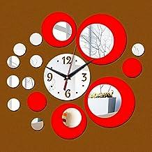 EverTrust(TM) new acrylic large wall clock quartz watch diy clocks 3d stickers living room europe reloj de pared sticker horloge murale