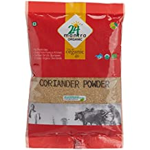 Organic Coriander Seeds Powder 7 Ounces, USDA Organic, No Pesticides, No Adulteration, No Sodium - 24 Mantra Organic