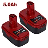 2 Pack 5.0Ah 19.2V Lithium-ion Replacement for