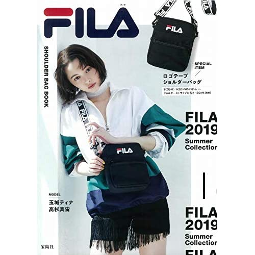 FILA SHOULDER BAG BOOK 画像
