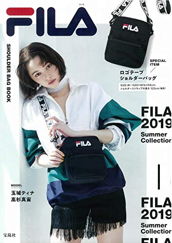 FILA SHOULDER BAG BOOK 画像 A