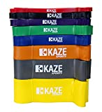 KAZE SPORTS Assisted Pull-Up Loop Band, 41-inch (#8 Grey (2-1/2″)) Review