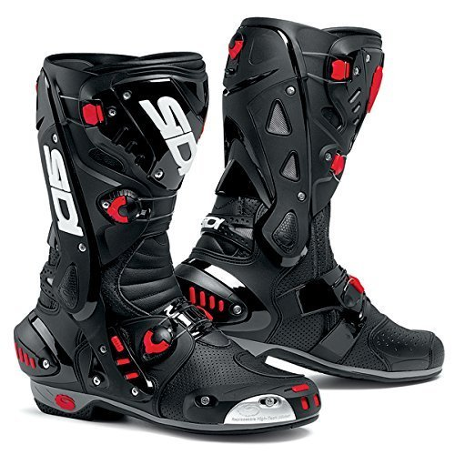 (SIDI VORTICE AIR MOTORCYCLE BOOTS (BLACK, SIZE 12.5 / 47))