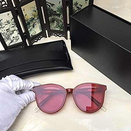 62f9c36de17e Image Unavailable. Image not available for. Color  New Gentle Women eyeware  V Brand Black Peter RD1 Sunglasses for gental Monster Sunglasses -red