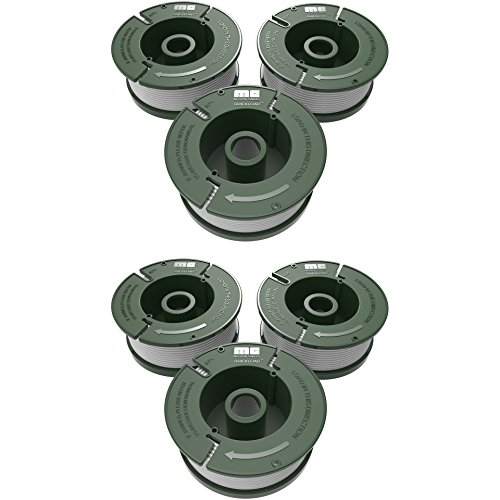 Mission Quickload 0.065 Replacement Autofeed Spool 6-Pack (Compatible with BLACK and DECKER String Trimmers)
