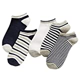 Short Socks, (10 Pairs) Men's Invisible Cotton Socks, Four Seasons Breathable and Sweat Absorbent, Soft and Comfortable, Average Size, Random Colors