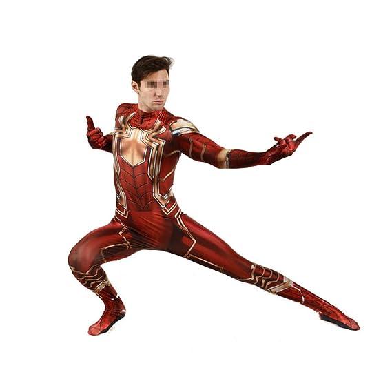 CVFDGETS Disfraz De Spiderman Niño Adulto Iron Man Disfraz De ...