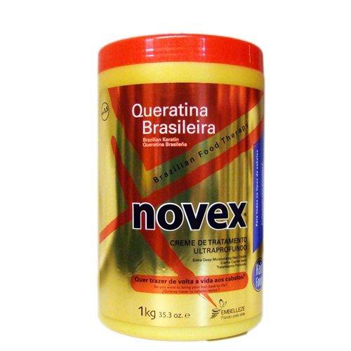Novex Hair Care Brazilian Keratin Deep Conditioning Mask, 35.3 oz