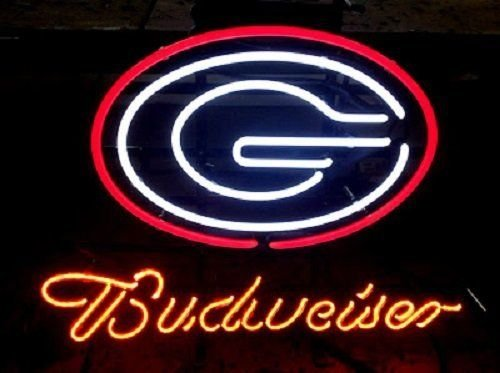 Sign Georgia Bulldogs Neon (Desung Brand New 17