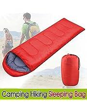 Yaheetech Single Adult Envelope Sleeping Bag Camping Hiking Zipper