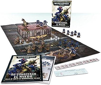Warhammer no conoceran el Miedo Caja Inicio 40k: Amazon.es: Juguetes y juegos