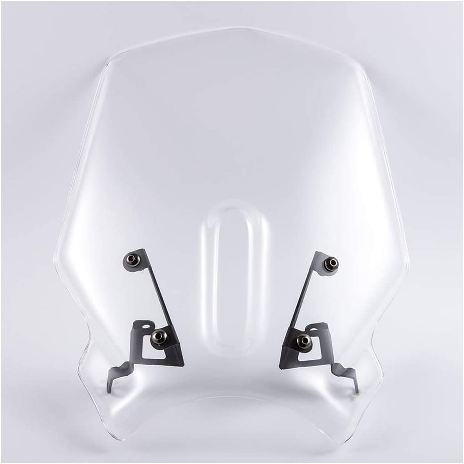 Motorcycle Sports Windshield WindScreen Visor Viser Fits For Honda CB125R CB250R CB300R 2018 2019 2020 18-20 Double Bubble
