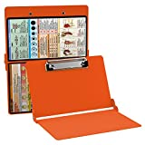 WhiteCoat Clipboard- Safety Orange - Nursing Edition