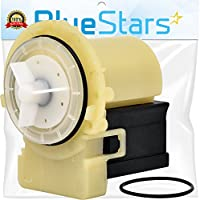 Ultra Durable 8181684 Washer Drain Pump Kit Replacement by Blue Stars - Exact Fit for Whirlpool Kenmore KitchenAid washers - Replaces 8182819 8182821 AP3953640