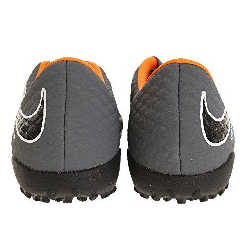 Nike Heren Hypervenom Phantomx 3 Academie Tf Turf Voetbalschoenen (donkergrijs, Totaal Oranje) Donkergrijs, Totale Oranje, Wit