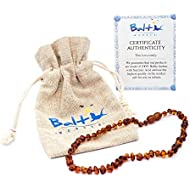 Baltic Amber Teething Necklace For Babies (Unisex) (...