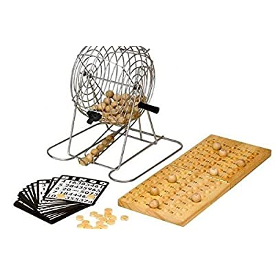 "9"" Metal Bingo Set"