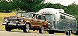 1985 Jeep Grand Wagoneer Airstream Camper Factory Photo